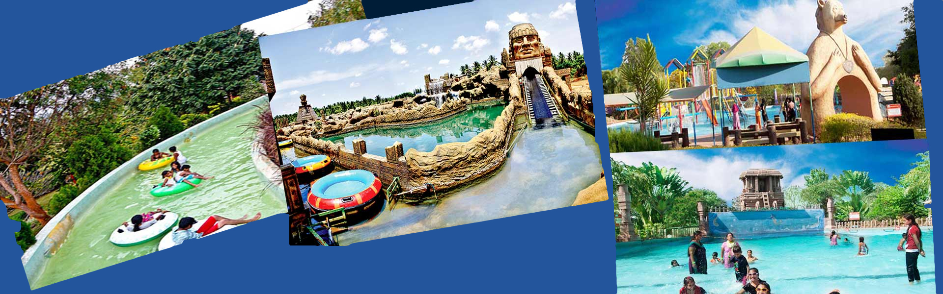 Poolmasters Water theme Park Collage